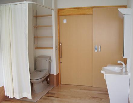 部屋(ドア側)
